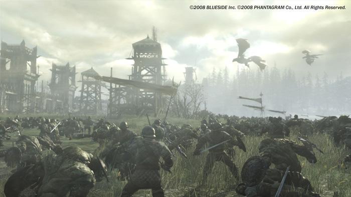 Chiến trường hoành tráng trong Kingdom Under Fire II