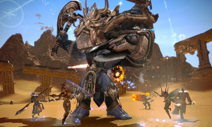 Cận cảnh Tera Online với công nghệ Unreal Engine 3 - Ảnh 4