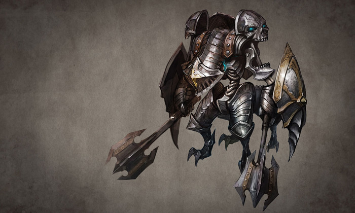 Tạo hình quái vật trong Tera Online