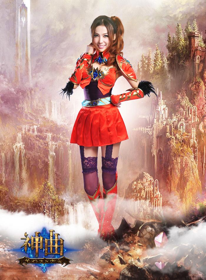 Mãn nhãn với cosplay Thần Khúc