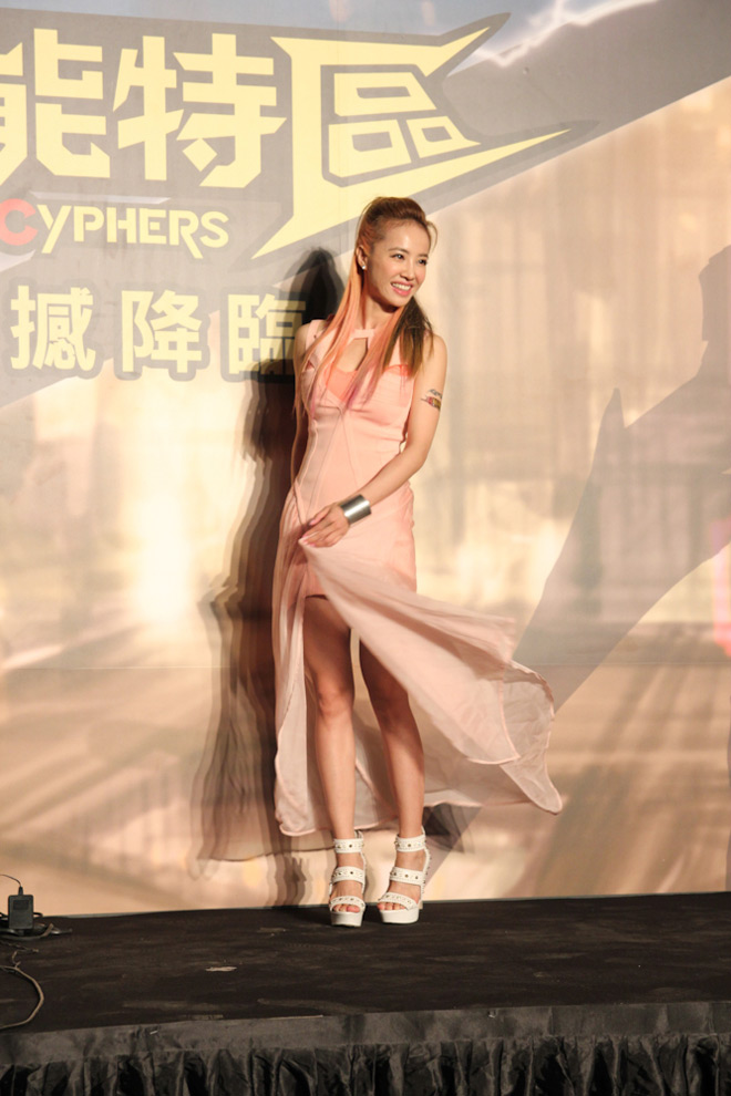 Cosplay Cyphers cực chất tại lễ ra mắt ở Đài Loan - Ảnh 3