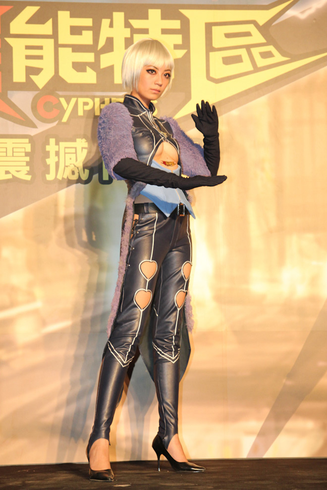 Cosplay Cyphers cực chất tại lễ ra mắt ở Đài Loan