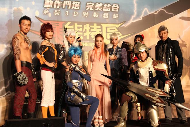 Cosplay Cyphers cực chất tại lễ ra mắt ở Đài Loan - Ảnh 13