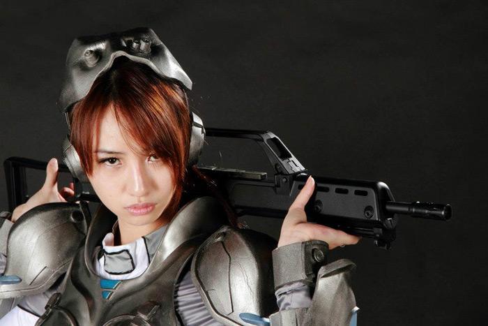 Nữ chiến binh gợi cảm của StarCraft II - Ảnh 4