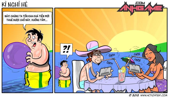 Kỳ nghỉ hè của game thủ - Ảnh 1