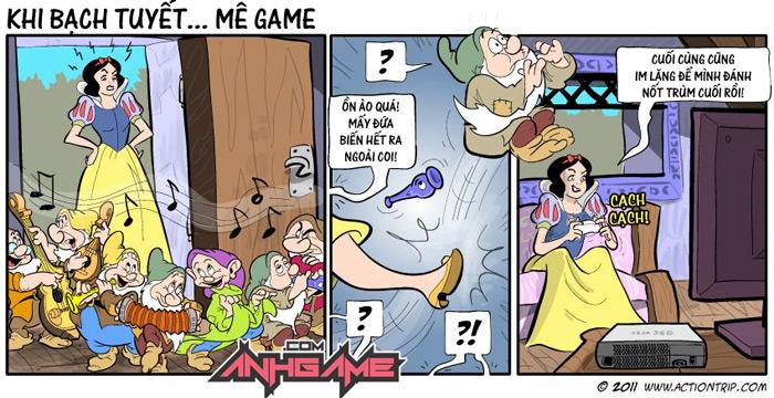 Khi Bạch Tuyết ... mê game - Ảnh 2
