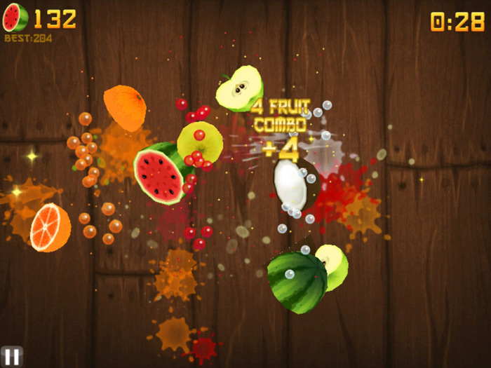 """Fruit Ninja: """"Hiệp sĩ"""" chém trái cây - Ảnh 2"""