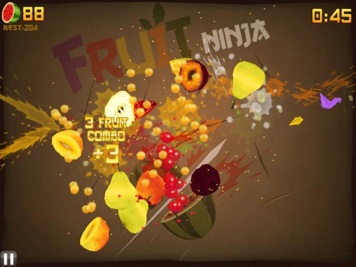 """Fruit Ninja: """"Hiệp sĩ"""" chém trái cây - Ảnh 3"""