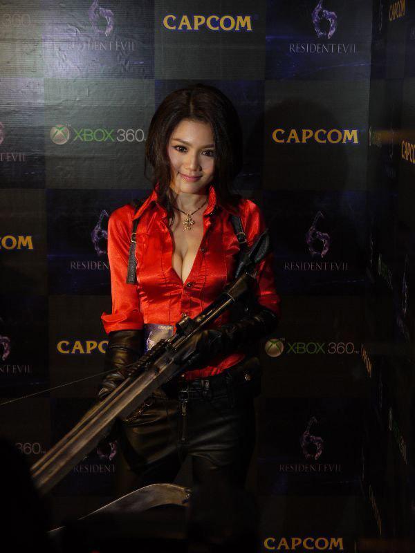 Nàng Ada Wong gợi cảm trong lễ ra mắt Resident Evil 6 - Ảnh 3