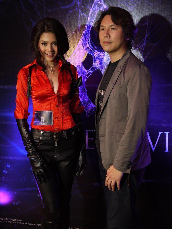 Nàng Ada Wong gợi cảm trong lễ ra mắt Resident Evil 6 - Ảnh 4