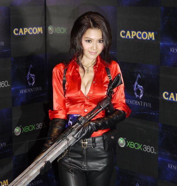 Nàng Ada Wong gợi cảm trong lễ ra mắt Resident Evil 6 - Ảnh 7