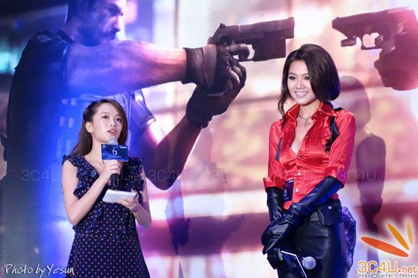 Nàng Ada Wong gợi cảm trong lễ ra mắt Resident Evil 6 - Ảnh 10