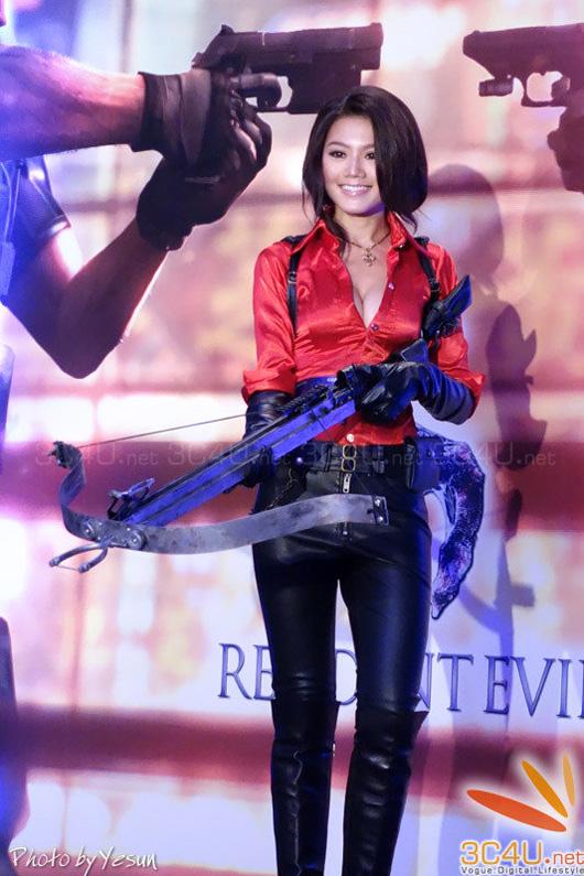 Nàng Ada Wong gợi cảm trong lễ ra mắt Resident Evil 6 - Ảnh 13