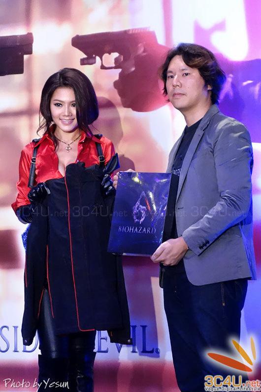 Nàng Ada Wong gợi cảm trong lễ ra mắt Resident Evil 6 - Ảnh 15