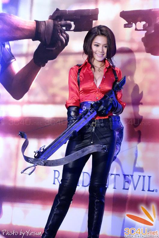 Nàng Ada Wong gợi cảm trong lễ ra mắt Resident Evil 6 - Ảnh 18