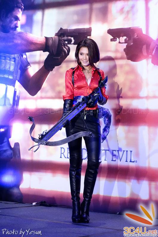 Nàng Ada Wong gợi cảm trong lễ ra mắt Resident Evil 6 - Ảnh 19