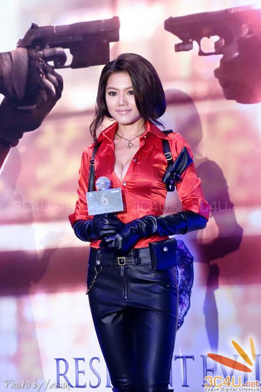 Nàng Ada Wong gợi cảm trong lễ ra mắt Resident Evil 6 - Ảnh 25
