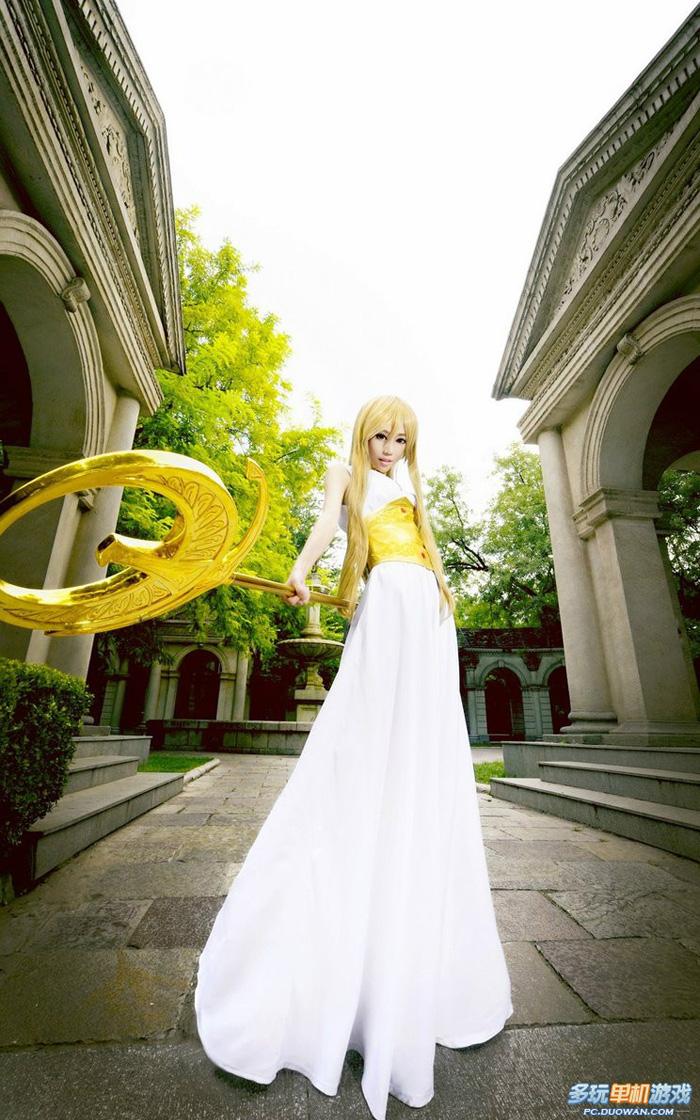 Ngắm nữ thần Athena trong Saint Seiya Online - Ảnh 4