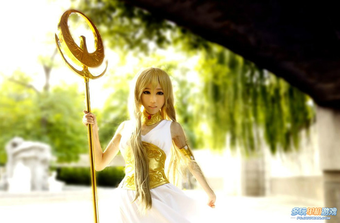 Ngắm nữ thần Athena trong Saint Seiya Online - Ảnh 7