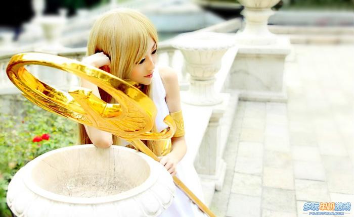 Ngắm nữ thần Athena trong Saint Seiya Online - Ảnh 8