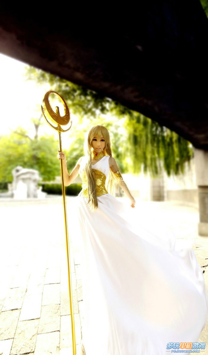 Ngắm nữ thần Athena trong Saint Seiya Online - Ảnh 9