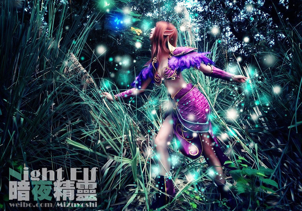 Mizuyoshi gợi cảm với cosplay Night Elf - Ảnh 2