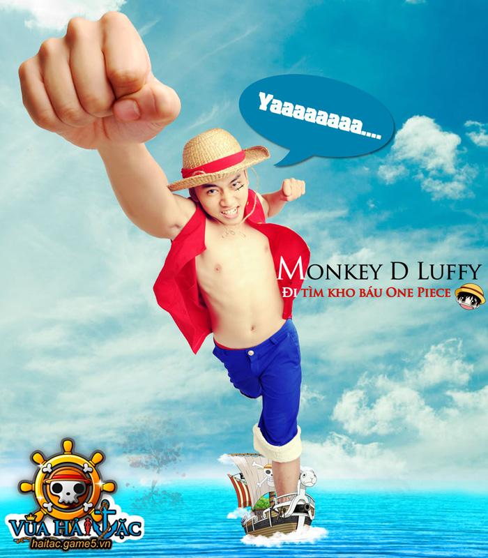 Antei Nguyễn hóa thân thành Luffy trong Vua Hải Tặc