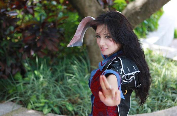 Kỳ Di Nhã gợi cảm với cosplay Dungeon & Fighter - Ảnh 3