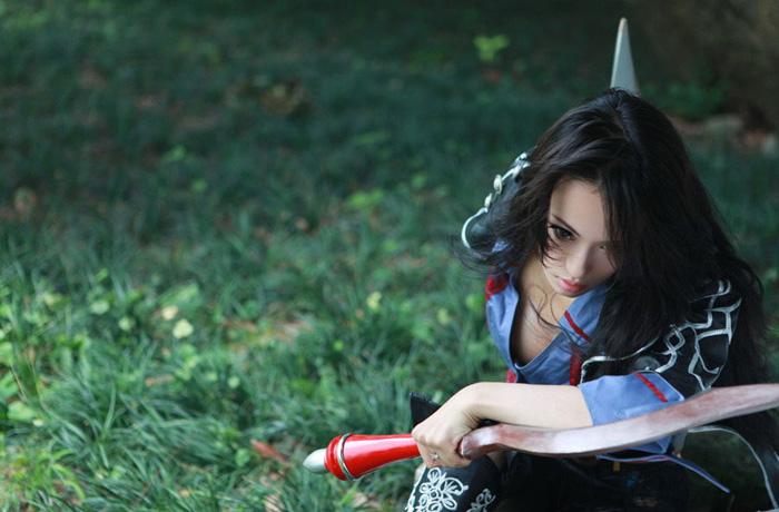 Kỳ Di Nhã gợi cảm với cosplay Dungeon & Fighter
