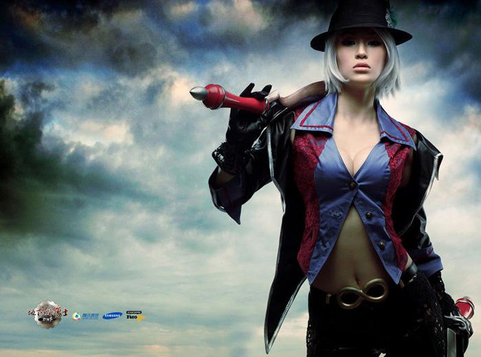 Kỳ Di Nhã gợi cảm với cosplay Dungeon & Fighter - Ảnh 5
