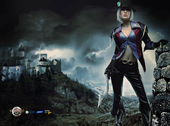 Kỳ Di Nhã gợi cảm với cosplay Dungeon & Fighter - Ảnh 7