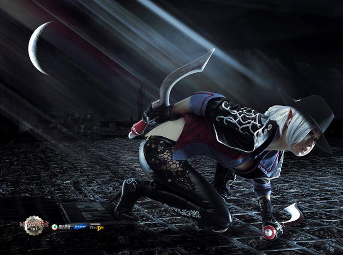 Kỳ Di Nhã gợi cảm với cosplay Dungeon & Fighter - Ảnh 9