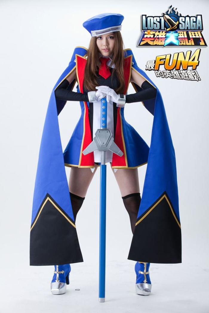 BY2 nhí nhảnh với cosplay Lost Saga - Ảnh 2