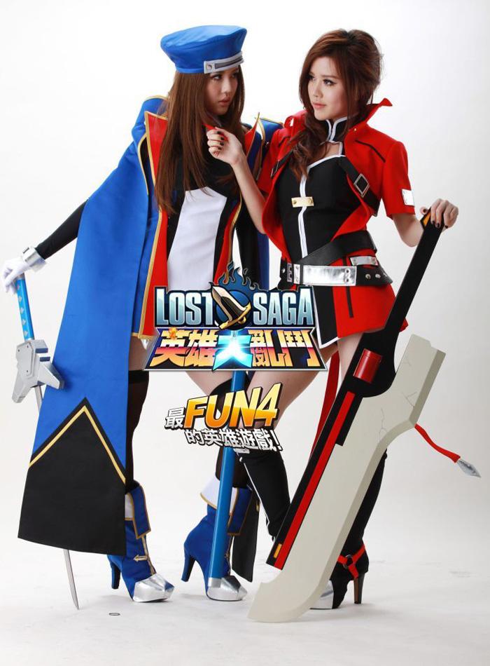 BY2 nhí nhảnh với cosplay Lost Saga - Ảnh 6