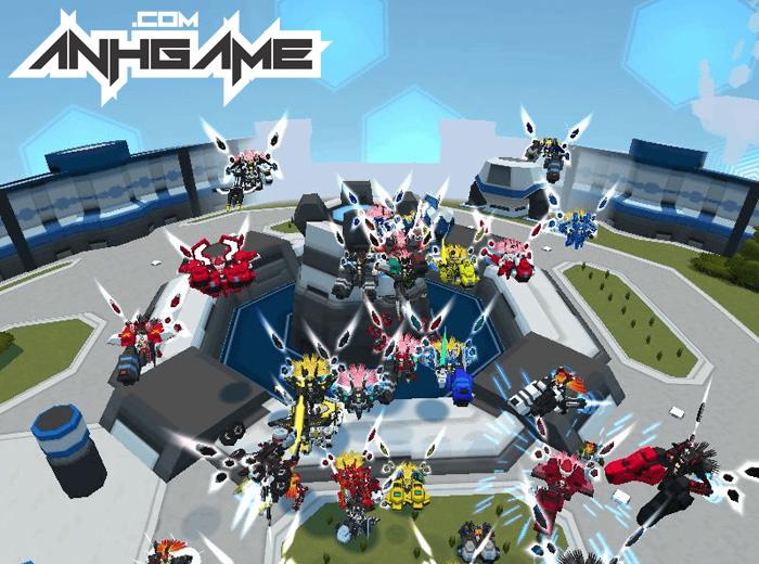 Nhìn cận cảnh Cosmic Break – Đấu Trường Robot - Ảnh 2