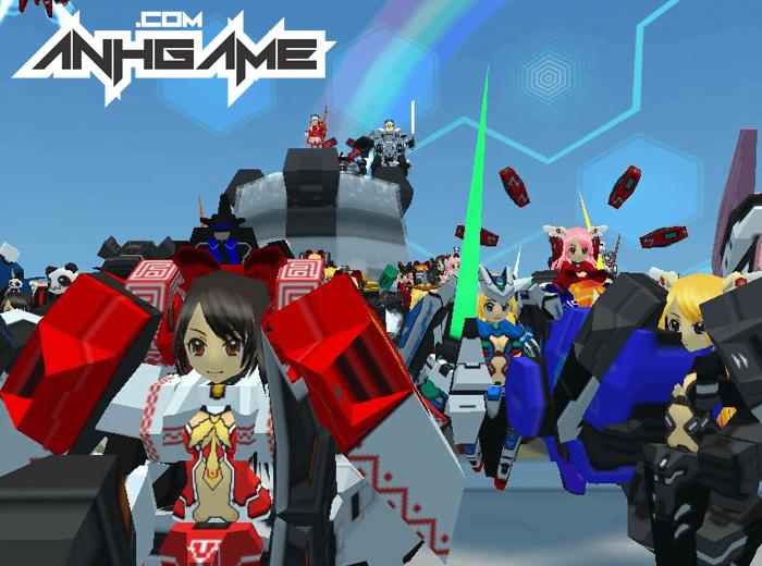 Nhìn cận cảnh Cosmic Break – Đấu Trường Robot - Ảnh 7