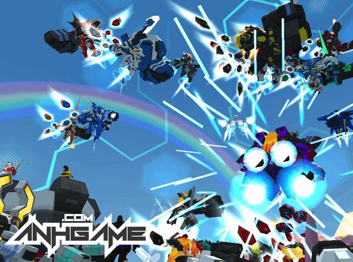 Nhìn cận cảnh Cosmic Break – Đấu Trường Robot - Ảnh 8