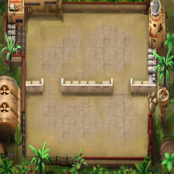 Bản đồ phác họa chiến trường trong BangBang Online