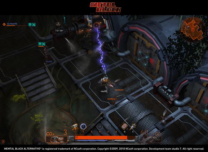 Loạt ảnh trong game ấn tượng của Metal Black - Ảnh 1