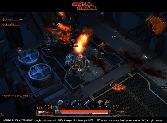Loạt ảnh trong game ấn tượng của Metal Black - Ảnh 10