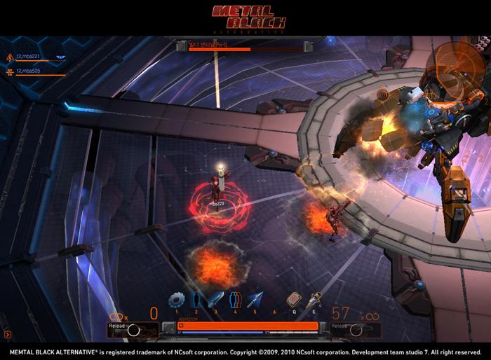 Loạt ảnh trong game ấn tượng của Metal Black - Ảnh 12
