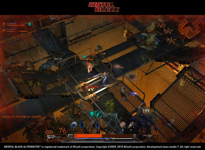 Loạt ảnh trong game ấn tượng của Metal Black - Ảnh 17