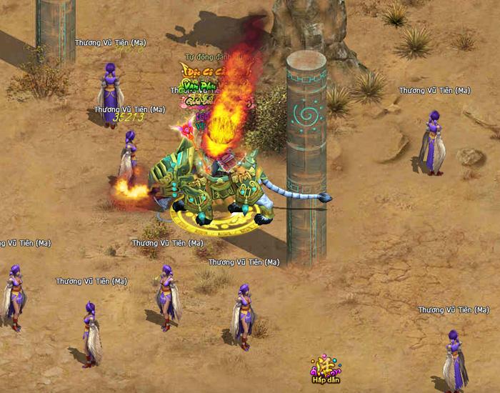 Hình ảnh trong game tuyệt đẹp của Phong Thần Bảng - Ảnh 3