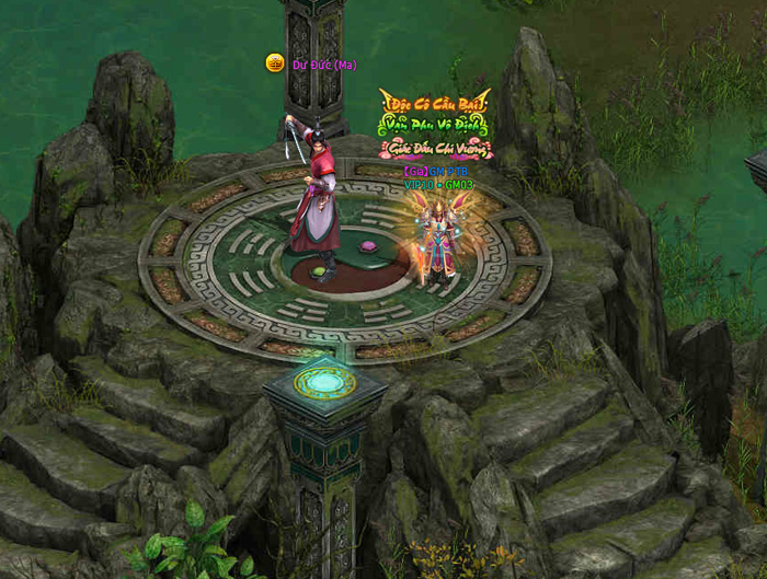 Hình ảnh trong game tuyệt đẹp của Phong Thần Bảng
