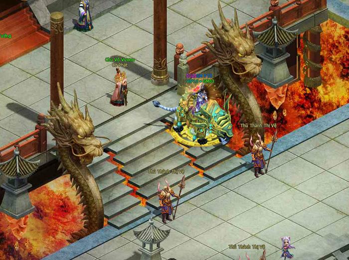 Hình ảnh trong game tuyệt đẹp của Phong Thần Bảng - Ảnh 12