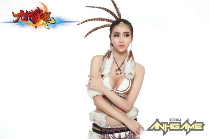 Cosplay khoe ngực của Cửu Châu Chiến Hồn - Ảnh 2