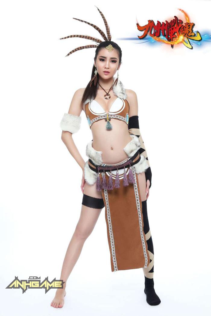 Cosplay khoe ngực của Cửu Châu Chiến Hồn - Ảnh 4