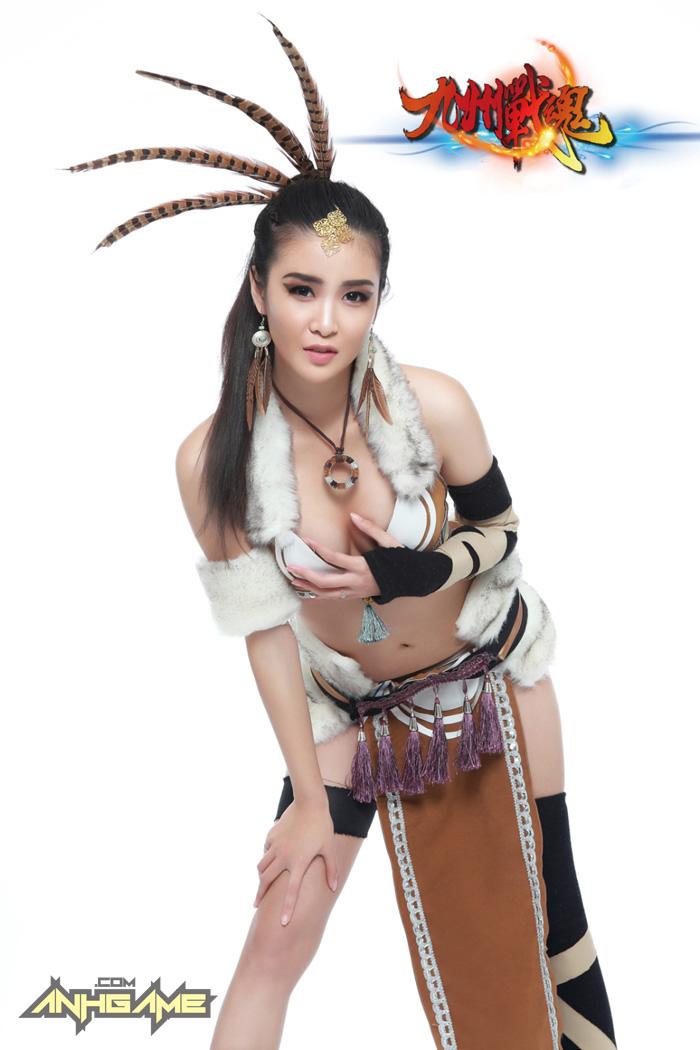 Cosplay khoe ngực của Cửu Châu Chiến Hồn - Ảnh 5