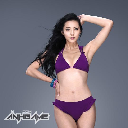 Ai Shang Zhen gợi cảm với ảnh quảng bá Queen's Blade - Ảnh 3