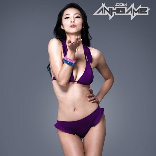 Ai Shang Zhen gợi cảm với ảnh quảng bá Queen's Blade - Ảnh 9
